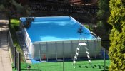 Basen z podgrzewaną wodą 10 m x 5 m